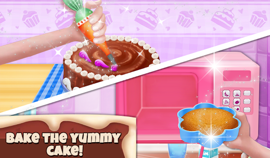 Happy Birthday Cake Cooking Games