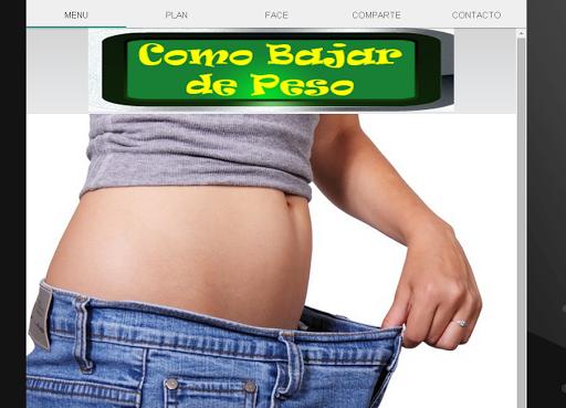 玩免費健康APP|下載Como Bajar de Peso app不用錢|硬是要APP