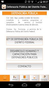 CEJUR- Defensoría DF- screenshot thumbnail