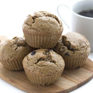 Flourless Chocolate Chip Muffins.