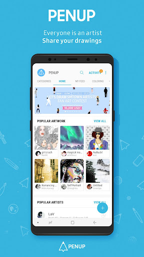 PENUP - Share your drawings 2.9.05.1 screenshots 1