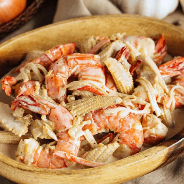 hearty meals creamy seafood casserole