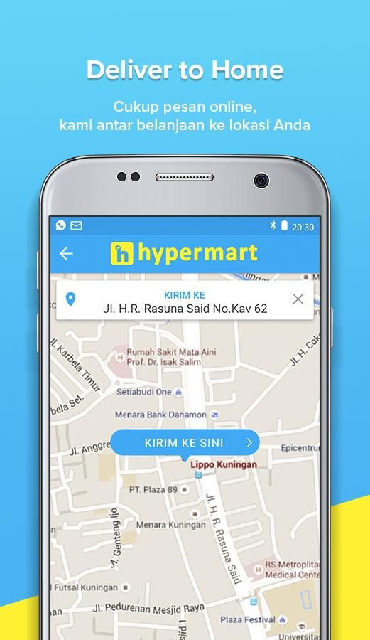 hypermart online- screenshot