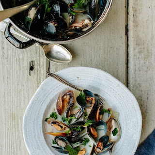 Mussels in Irish Cider