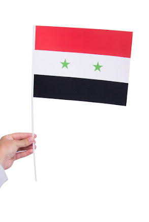Pappersflagga, Syrien