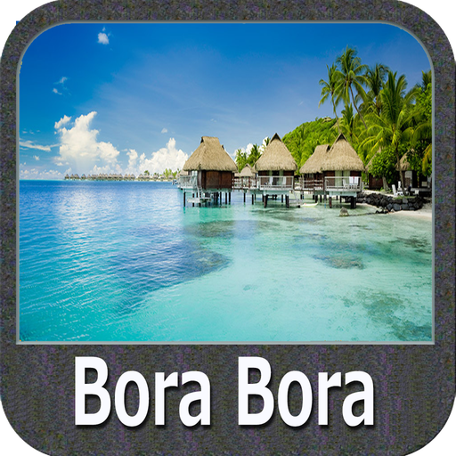 Bora Bora Islands Gps Map Navigator