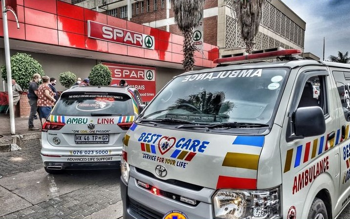 A nurse was burnt an in alleged petrol bomb attack in Pretoria.