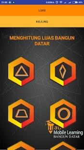 Math Mobile Learning Bangun Datar - náhled