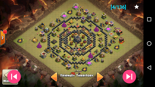 War layouts for Clash of Clans u0635u0648u0631 2