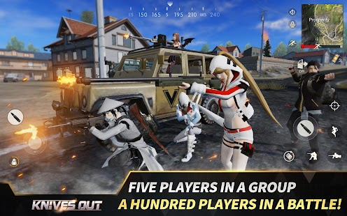 Knives Out-No rules, just fight! Screenshot