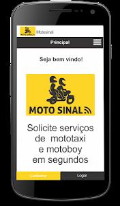 Moto Sinal - Cliente screenshot 1