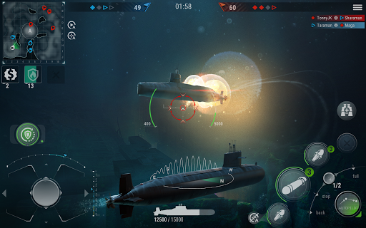 WORLD of SUBMARINES: Navy Shooter 3D Wargame 2.0 screenshots 10