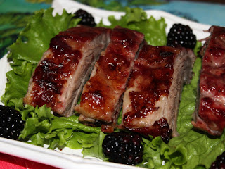 Blackberry-honey Ribs Recipe