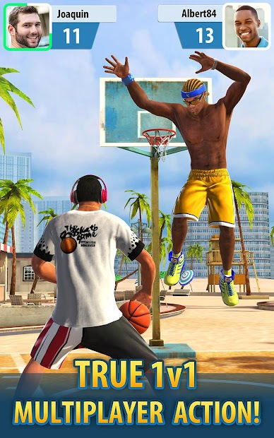Basketball Stars Android App Screenshot