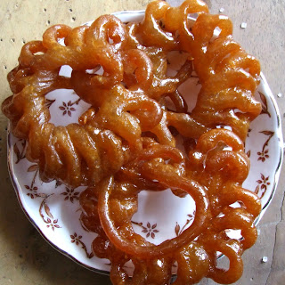 Homemade Jalebi.