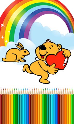 Coloring Games - Teddybear