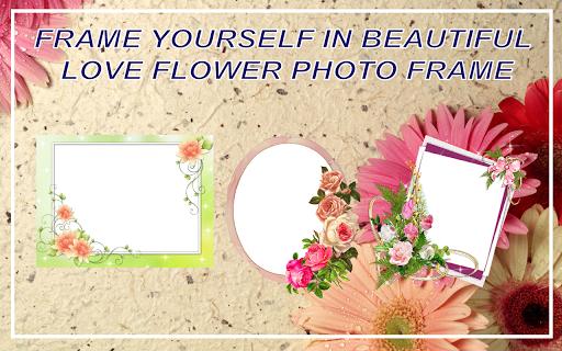 Love Flower Photo Frame new 2018  screenshots 3
