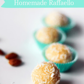 Homemade Raffaello Candy.