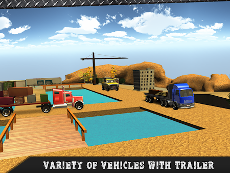 Truck Transporter Driving 3D 1.3 screenshot 70105