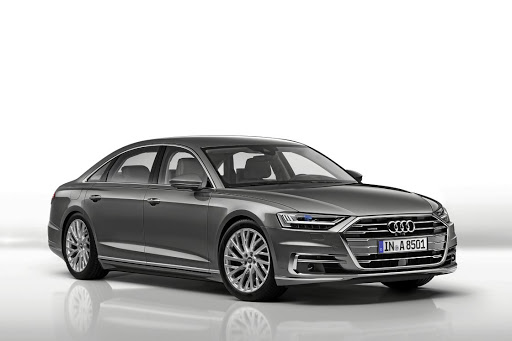 Audi has revealed its new A8 although promised styling changes have been toned down.     Picture: NEWSPRESS UK