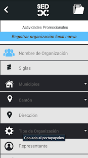 Programa Solidario Comunitario - náhled