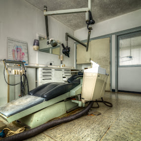 The dentist chair by Marlou Nijpels - Buildings & Architecture Decaying & Abandoned ( dentist, urban, chair, old, urbex, forgotten, decay, exploring, abandoned,  )