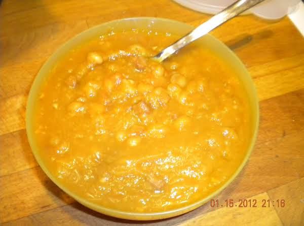 Yellow Pea Soup Yum!