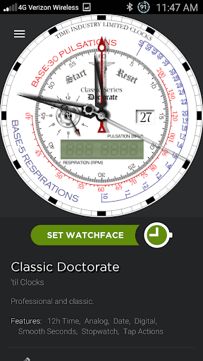 Doctorate Watchmaker Theme