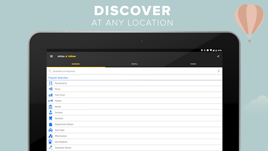 White yellow pages android apps on google play fandeluxe Image collections