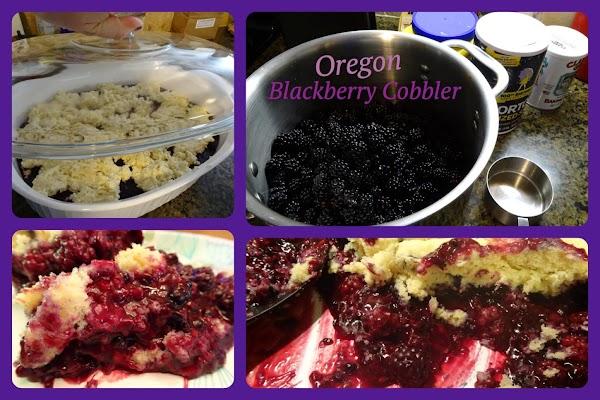 Oregon Blackberry Cobbler Recipe