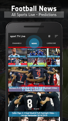 sport TV Live - Sport Television  screenshots 2