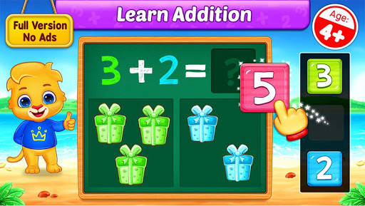Math Kids - Add, Subtract, Count, and Learn 1.2.3 screenshots 1