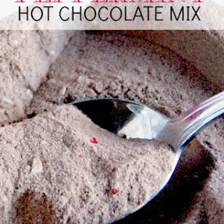 Peppermint Hot Chocolate Mix.