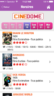 Ciné Dôme- screenshot thumbnail