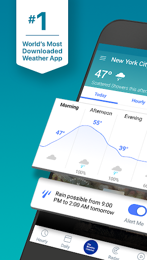 The Weather Channel: Local Forecast & Weather Maps 9.1.3 gameplay | AndroidFC 1