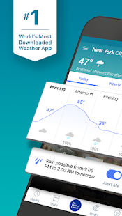 Weather Maps & Storm Radar -  The Weather Channel Screenshot
