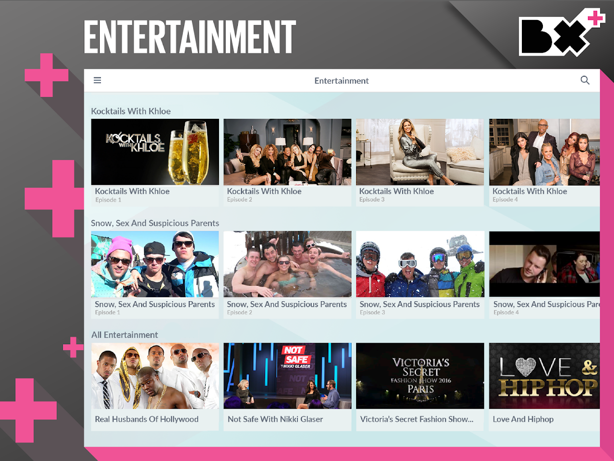 Box Plus. Music Videos & TV- screenshot