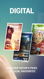 Woovoo - City magazine / free - náhled
