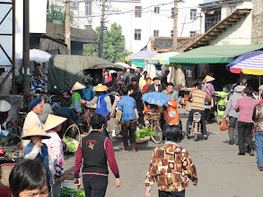 Photo: Day 216 - Market Area in  the City of Hepu  #3
