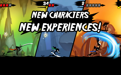 Stickman Revenge 3 - Ninja Warrior - Shadow Fight APK screenshot thumbnail 14