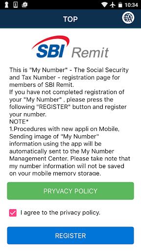 My Number for SBI Remit 1.0.3 Windows u7528 1