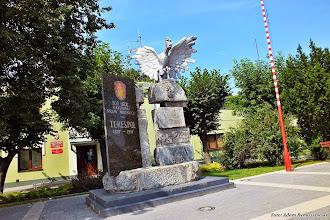 Photo: Pomnik w centrum