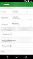 Screenshot of Landbobankens Mobilbank