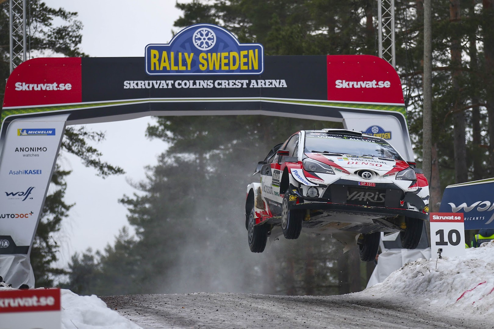 TOYOTA WRC Rally Sweden2019