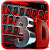 3D Black And Red Tech Keyboard Theme file APK Free for PC, smart TV Download