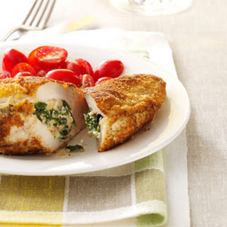Spinach-Stuffed Chicken Pockets