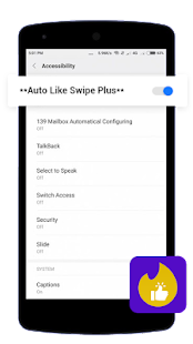 Auto Like Swipe Plus