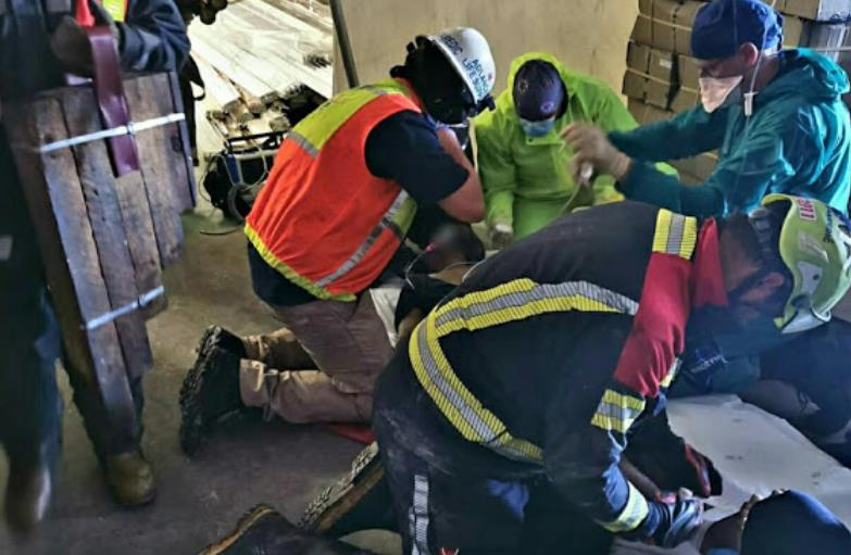 Durban man critical after metal pipes fall on him - TimesLIVE