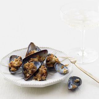 Crumbed Mussels Recipes.