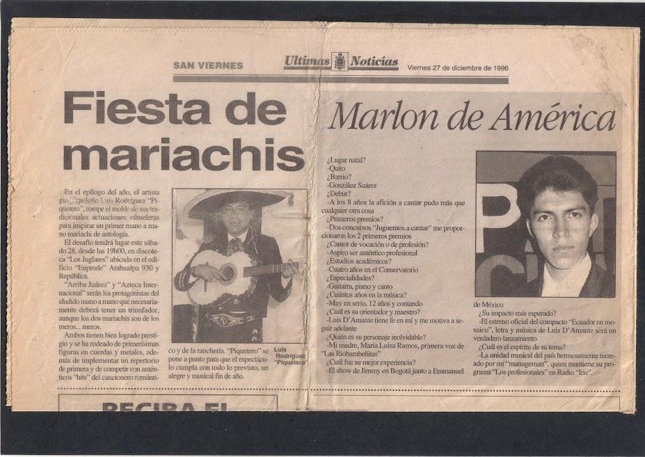 MARLON DE AMÉRICA